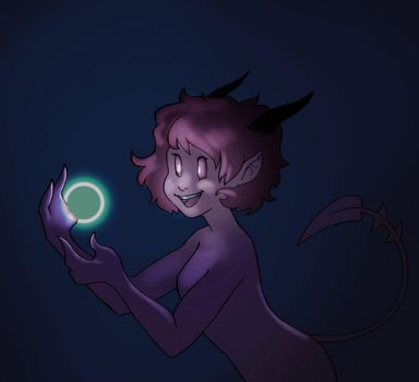 GIF: Nokt playing with Lights by grimalkn