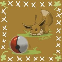 Eevee..with beach ball? by dragonairgulpin