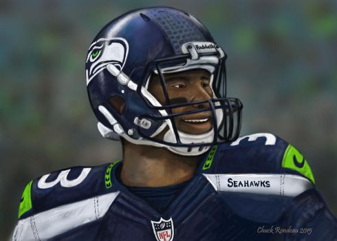 Russell Wilson- The Future of Football by ChuckRondeau