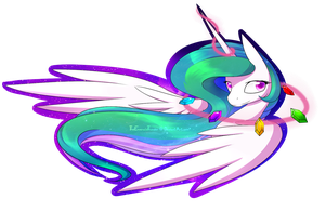 space!Celestia by AlphaAquilae