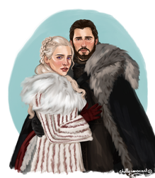 Jonerys by chillyravenart