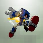 Metal Sonic 3.0 by CLE2