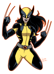 All-New Wolverine by LucianoVecchio