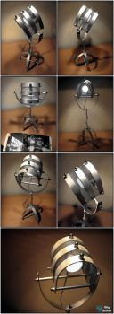Cyclops 2 desk lamp by WigArcher