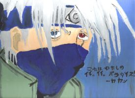 Kakashi Painting by omisgirl