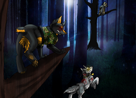 The Chase - Point Commission by X-x-Magpie-x-X
