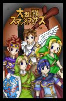 Swords of Smash Brothers by Lady-of-Link