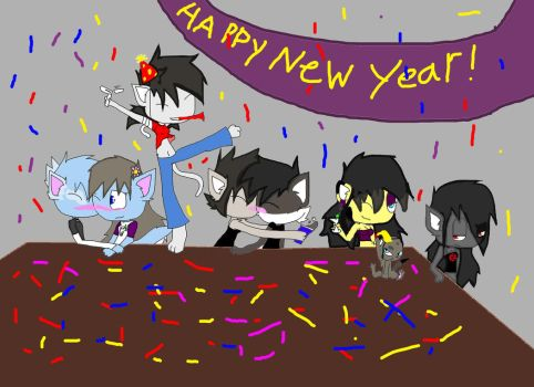 Happy New Year by DemonRodent