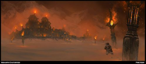 Fire Keep by SidharthChaturvedi