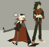 Vampire costumes won't be tolerated (some help?) by Pyro-Zombie
