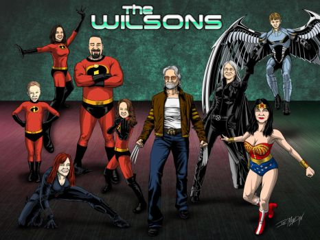 The Wilsons by JoeGrafix