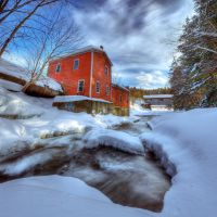 Decay and Covered Bridge 2 by IraMustyPhotography