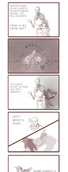 Undertale_Comic_Meeting Undyne by Kaiserglanz