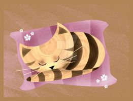 Sleepy Stripes by rockgem