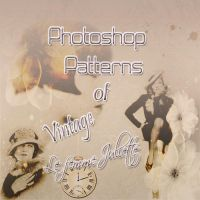 Patterns For Photoshop Of Vintage In Tones Sepia by julietawild07