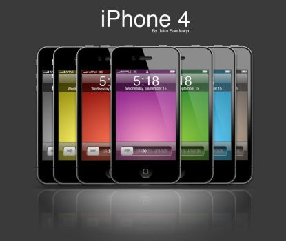 iPhone 4 by weboso