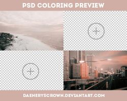 PSD Colorings preview by daeneryscrown