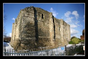 UK 36 - Canterbury Castle 01 by Keith-Killer