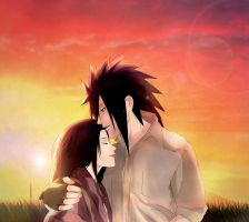 Madara x Haruko - Always By Your Side by Lesya7
