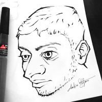 Inktober2016 Day 2 Caricature by AndrieriStefano