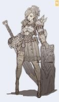Knight Girl by Zeronis