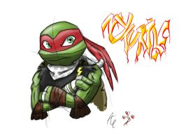 NY Turtle - Raphael by AR-ameth