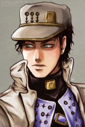 JJBA - Part 4 Jotaro by 7Repose