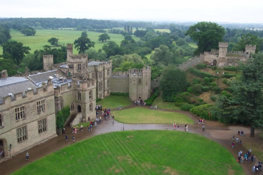 Warwick Castle by dahm