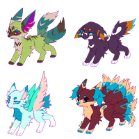 Free adoptable batch (CLOSED) by Zliet