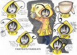 Cry Plays: Little Nightmares-Toilet Paper by FairyKats
