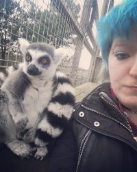 Lemur and I by ThatChrissyGirl