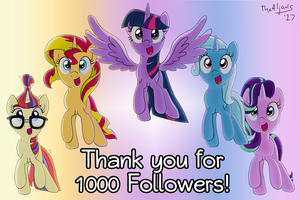 1000 FOLLOWERS! by TheAljavis