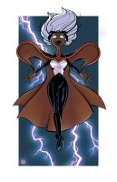 Storm Print - Sketch Dailies by joelduggan