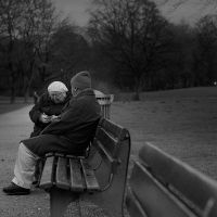 Old People in English garden by Sodapop77