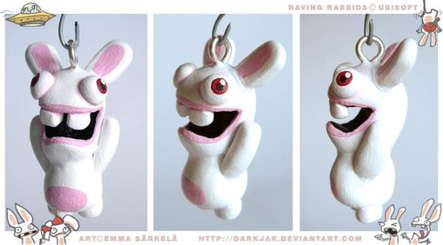 Rabbids charm by ZombiDJ
