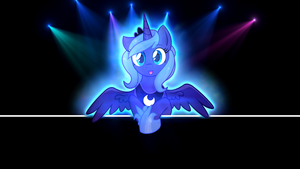 Wuvable Pwincess of the Night by LugiPoni