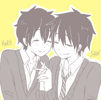it's shinharu my otp by MikuFregapane