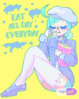 Eat All Day Everyday by Purple-Sleep