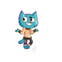 ~ Gumball ~ by Zacuraptor