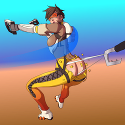 Tracer Wedgie Hooked by HarryPatridge