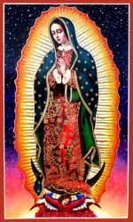 Our Lady of Guadalupe - St. Francis Parish by Theophilia