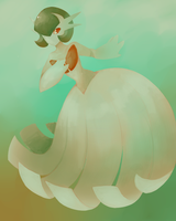 Gardevoir painting by Xyliax