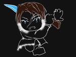 [Quick Drawing] Chibi Squall by Pianodream