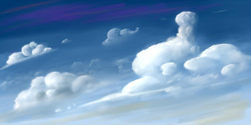 Clouds by ohthatandy