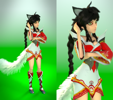 Ahri, few changes (League of Legends) by MANO-WII