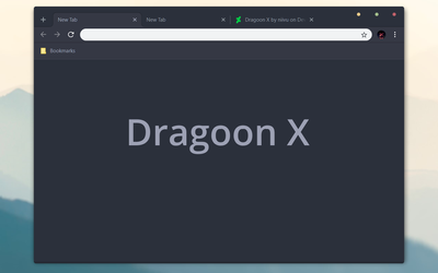 Dragoon X Chrome Theme by bkp86