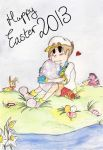 Happy Easter 2013 by Blue-Aqua-san95