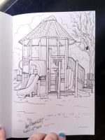 A play park in ink by harusame