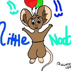 Little noob mouse by Wulfielife