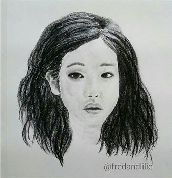 Traditional art practice (charcoal and graphite) by fred-xo